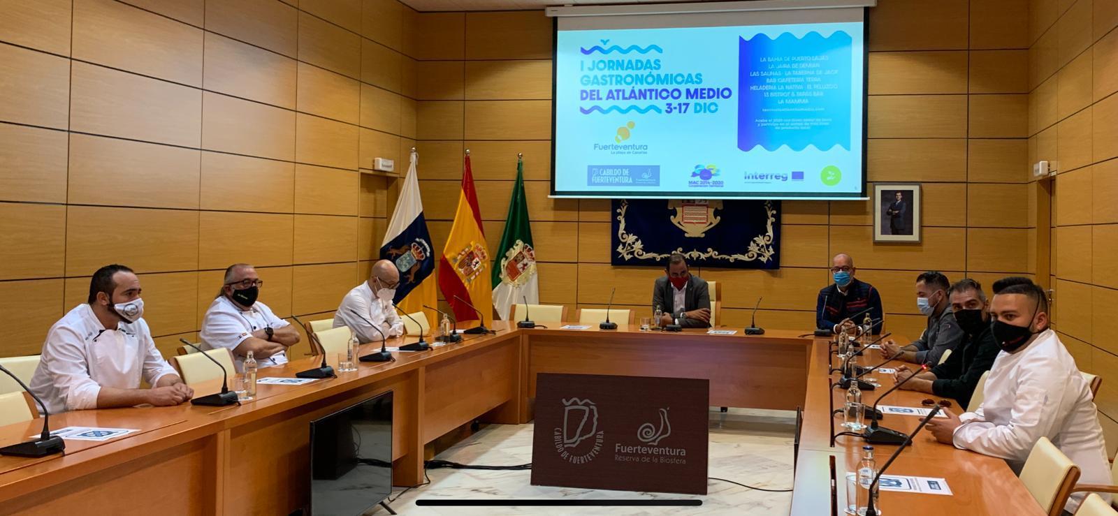 El Cabildo de Fuerteventura presenta las I Jornadas Gastronómicas del Atlántico Medio